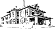 Mayor Bradford House Sketch